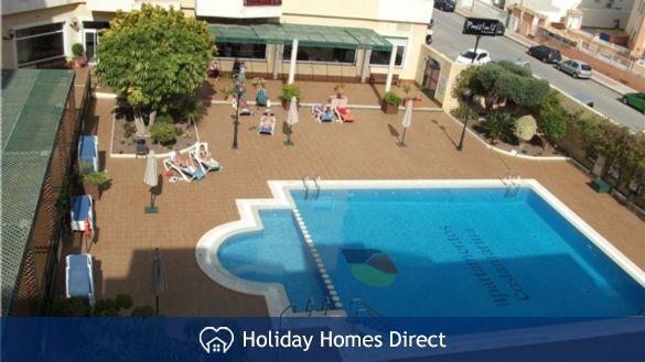 Pool Area-from Apt. Balcony