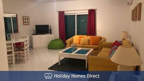 Sitting room in Prainha Village in Portugal
