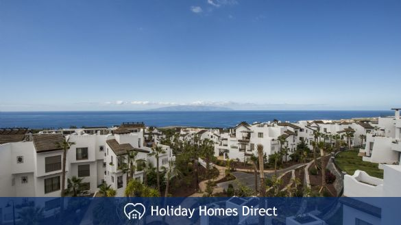 Side view of Abama Terraces in Tenerife