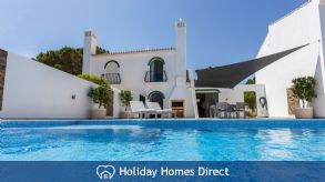 Dunas Luxury Villa: Private Heated Pool With Kid Section & Fence, Walk To Beach, Portugal