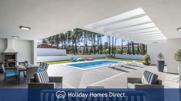 Villa Do Moinho private swimming pool and bbq