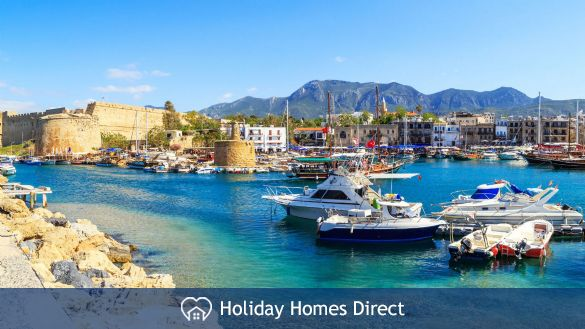 Historic Kyrenia Harbour & Castle