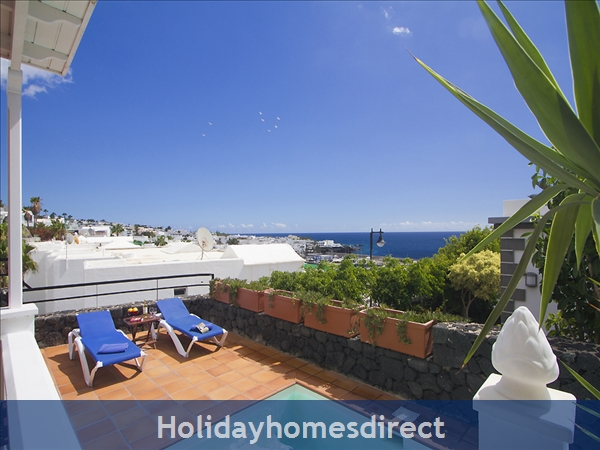 Villa Benedicte With Private Heated Pool, Puerto Del Carmen, Lanzarote: Benedicte view