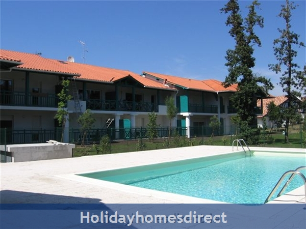 4 Star Apartment: Exclusive, Idyllic, Close To Nature, Pool, South France Coast: Swimming Pool and View toward Chez Anne Marie
