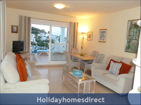 Stunning Sea-views Luxury Apartment.  Spanish Tourism Registered.  Free Wifi.  5 Minutes  Walk  Playa And Beaches, Uk Tv.: STUNNING SEA-VIEWS LUXURY APARTMENT.  SPANISH TOURISM REGISTERED.  FREE WIFI.  5 MINUTES  WALK  PLAY