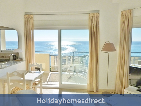 Marbella - Luxurious Front Row Skol Private Apartment, With Stunning Sea-views From 2 Huge Terraces.  Registered With Spanish Tourism: living room