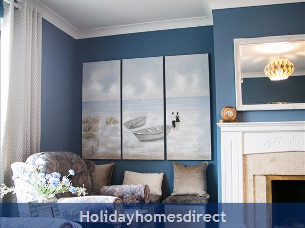 Pebble Beach, Sligo: Family Living Room