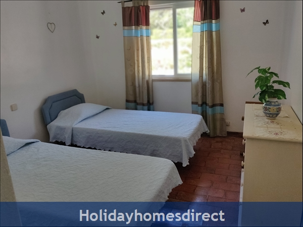 Vila Elizabete Carvoeiro  Al 40133 , Close To Beach With Aircon And Internet Access.: Bedroom 3