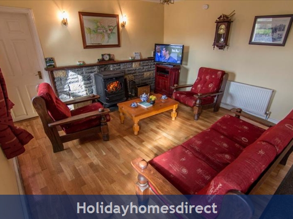 Cottage Mayo, Rock View House. Carracastle Charlestown, Mayo. F45 Pn50: bedroom