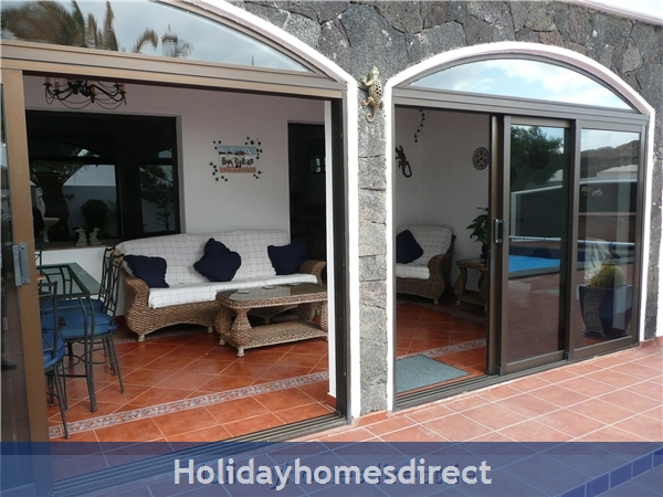 Villa Ani-lee, Villa In Tias: additional seating/dining area