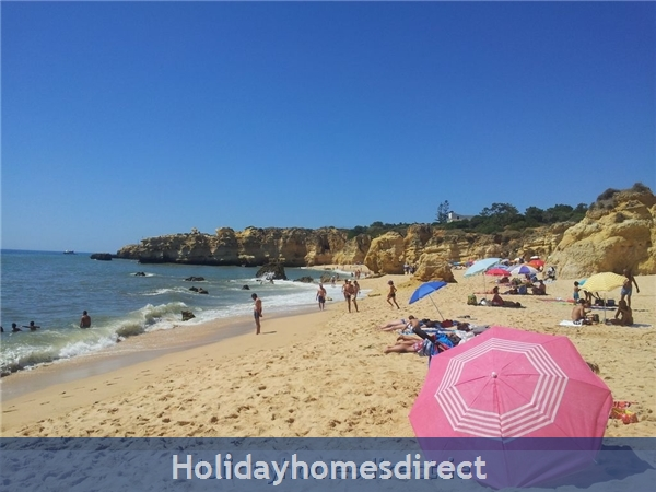Villa With Wi-fi At Ponta Grande, Sao Rafael Near Albufeira: Sao Rafael Beach
