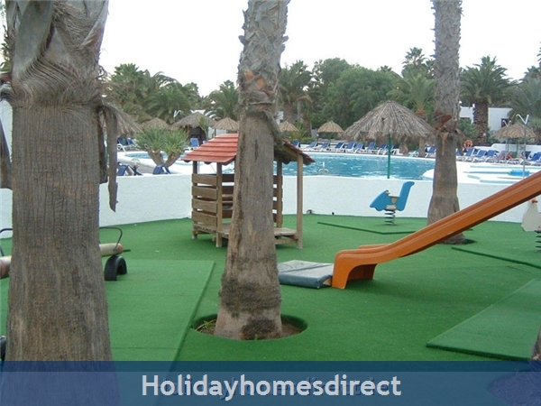 Las Brisas Villa With Gorgeous Shared Pool, Playa Blanca: Pool and Kids Play Area