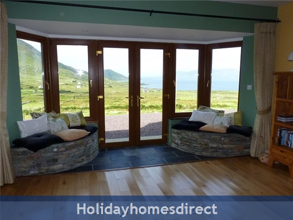 Self Catering Waterville, Kerry: Living Room