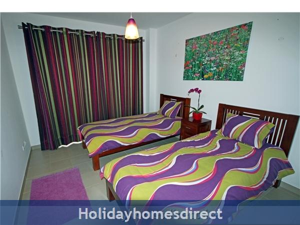 Vista Da Lagoa, Obidos , Silver Coast: Downstairs bedroom.
