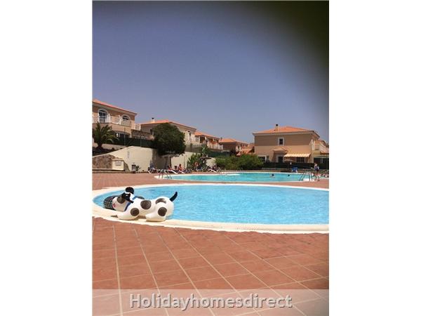 Tra Bhui, Fuerteventura, Canary Islands: Pool area