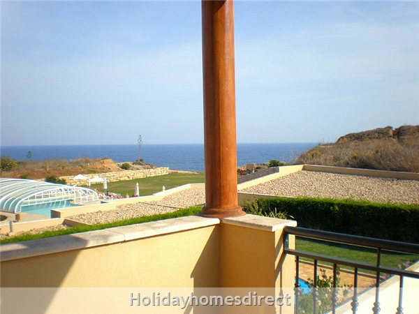 Domus Iberica Casa 2. Burgau.  With Private Pool, Sea View And Walk To The Beach !: Terrific Sea Views from the Veranda