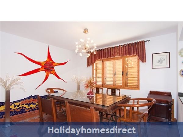 Villa Lea: Dining Room