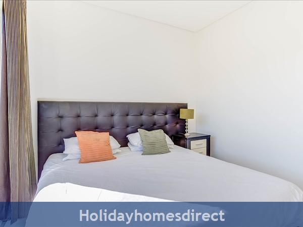Stunning 1 Bedroom Apartment (303b) Located Cavalo Preto Beach Nr Restaurants, Bars, Golf Courses, Water Parks Of Quarteira & Vilamoura.: Bedroom