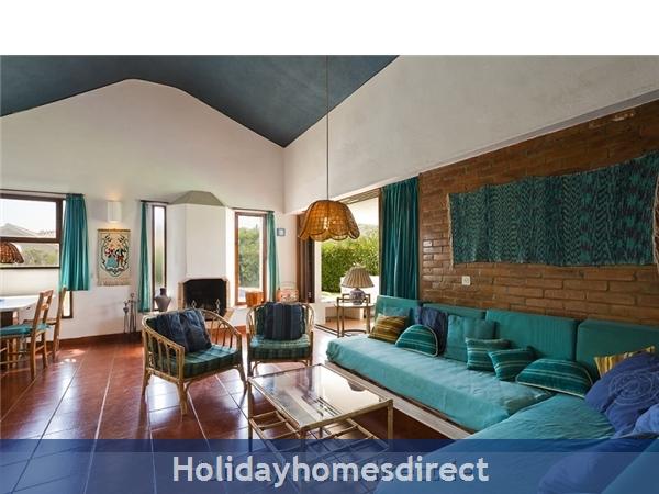 Villa Avril Albufeira Private Villa With Pool: Living Room
