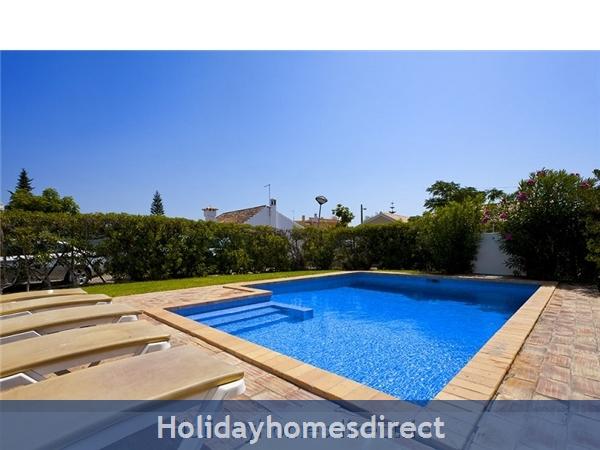 Villa Avril Albufeira Private Villa With Pool: Pool Area