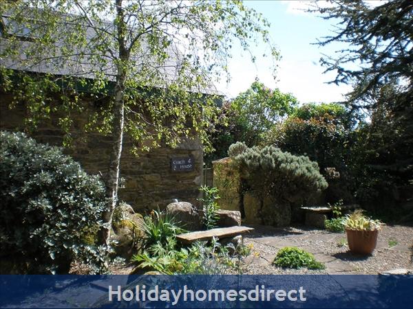 The prize-winning Courtyard Garden