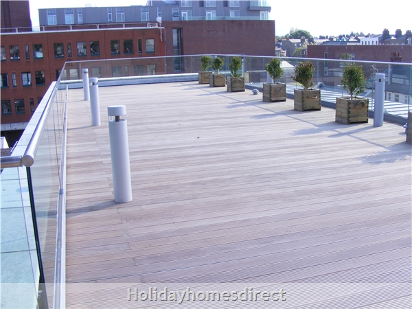 Apt 14 Pavilion View, Beautiful Residential Area, 5 Minutes From City Centre!: Roof Garden