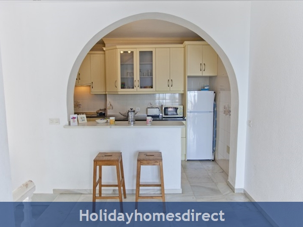 Alamar Nerja Cosat Del Sol Spain: Kitchen from living