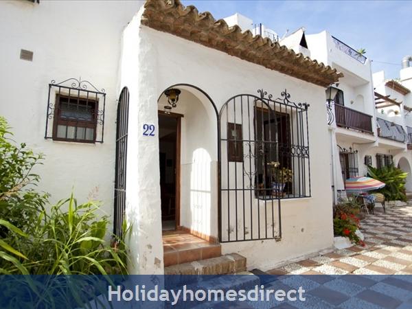 Pueblo Andaluz: Entrance