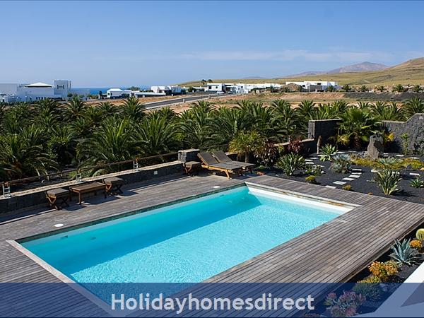 Buena Vida With Private Pool, Puerto Calero, Lanzarote: Pool