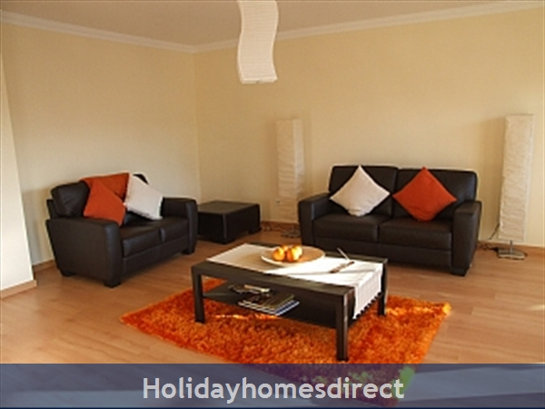 Spacious 3 Bed Alvor Apartment Alvor Apartment With Wifi, Aircon, Smart 50: Very large and spacious living room
