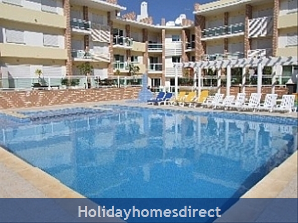 Spacious 3 Bed Alvor Apartment Alvor Apartment With Wifi, Aircon, Smart 50: Pool