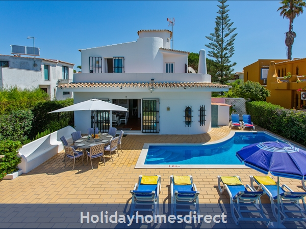 Villa Anderwood Vilamoura Villa With Private Pool: Pool area