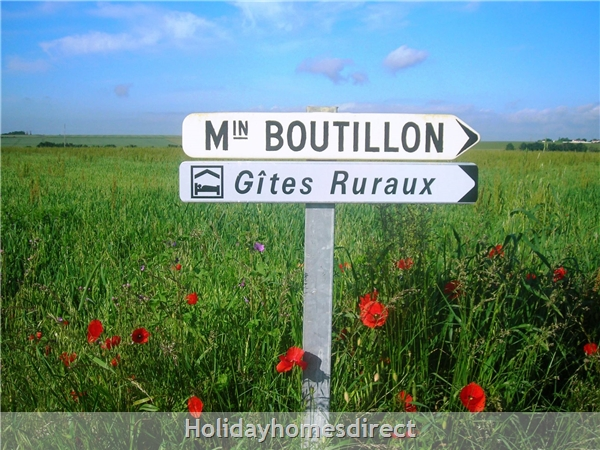 Puce Gite: Welcome to boutillon gites