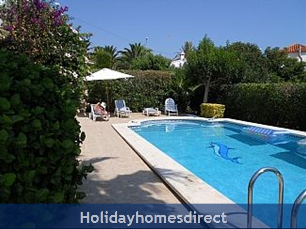 Beautiful Villa With Private Pool, Mountain And Sea Views: Pool area