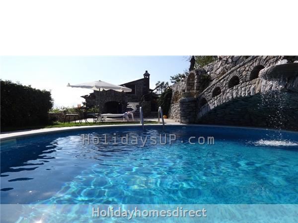 Private pool relax point villa amalfi coast