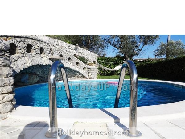 Private pool at villa in sant'agata sui due golfi