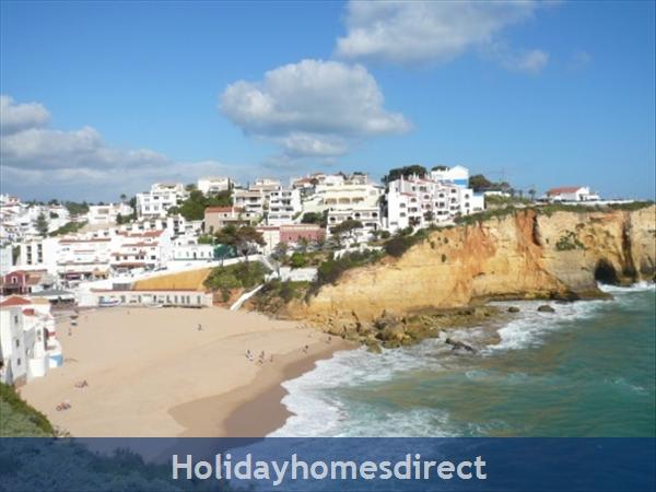Apartment Aurora Mar 7, Carvoeiro, Algarve, Portugal: 500m from carvoeiro beach