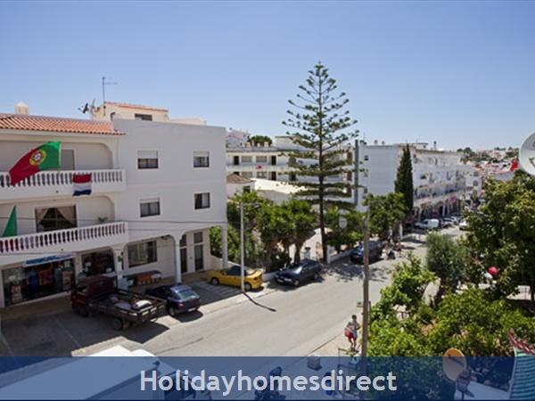 Apartment Aurora Mar 7, Carvoeiro, Algarve, Portugal: estrada do farol, view from the balcony