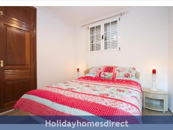 Villa Juanitas bedroom in Puerto Del Carmen