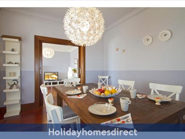 Villa Vellamos With Private Pool, Puerto Calero, Lanzarote: Dining room