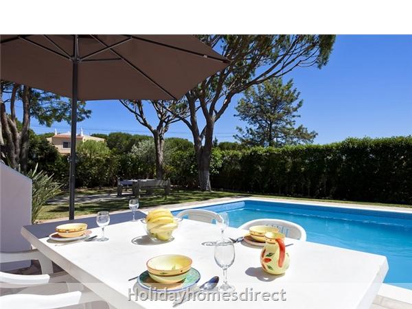 Villa Nova Vilamoura Private Villa With Pool: Terrace
