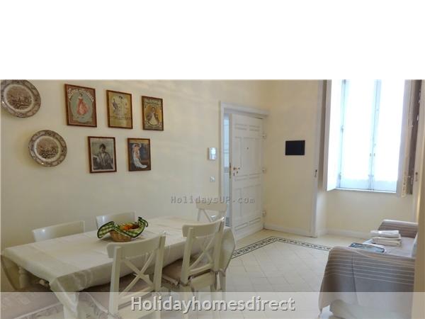 Entrance apartment one at villa dimora emilia