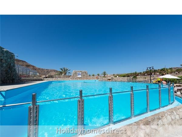 Villa Carmela, Anfi Tauro Zafiro, 3 Bedroom Villa, Private Garden, Heated Pool And Jacuzzi: Pool