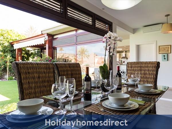 Villa Carmela, Anfi Tauro Zafiro, 3 Bedroom Villa, Private Garden, Heated Pool And Jacuzzi: Image 8