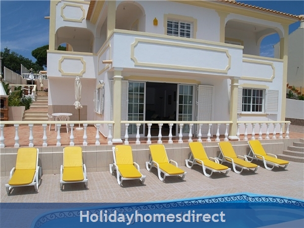 Villa Mariamar With 5 Bedrooms, Aircon, Wifi, Private Pool Near Albufeira - Olhos D´agua - Free Airport Transfers
