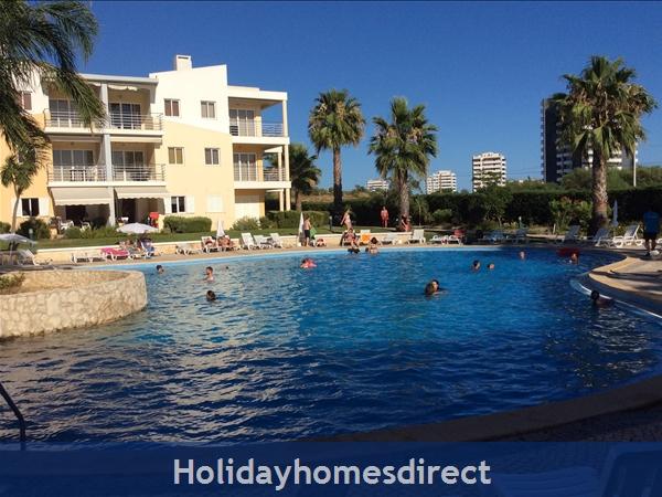 Vila da Praia Pool area Sunmmer