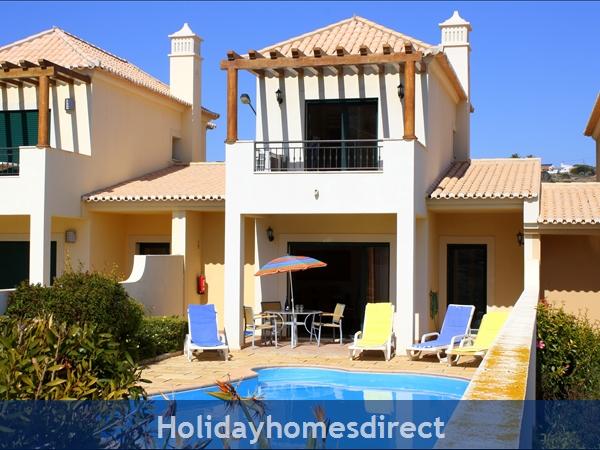 Villa 3 .. behind the palm tree !