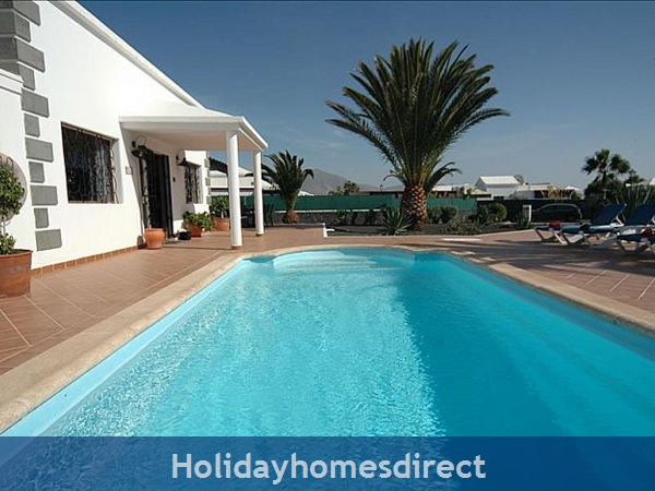 Villa Blanca Private swimming pool