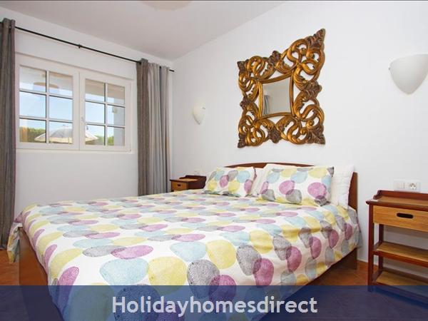 Villa Antares double bed bedroom in Lanzarote