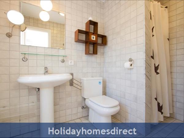 Villa Antares bathroom in Lanzarote